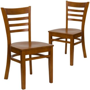 Chafin Solid Wood Dining Chair (Set of 2)