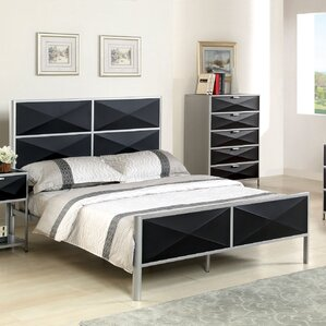 Mason Upholstered Platform Bed by Hokku Designs