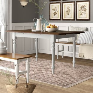 Calila Extendable Solid Wood Leg Dining Table