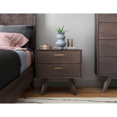 Brayden Studio Dalessio Platform 2 Piece Bedroom Set Bed Size: Queen