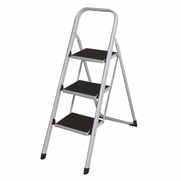 Above Edge 2.33 ft Aluminum Folding Lightweight Step Ladder with 280 lb. Load Capacity u0026 Reviews | Wayfair  sc 1 st  Wayfair & Above Edge 2.33 ft Aluminum Folding Lightweight Step Ladder with ... islam-shia.org
