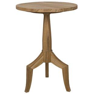 Outdoor Teak End Table Wayfair - Teak outdoor end table
