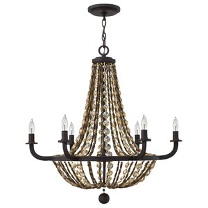 Marla 6-Light Empire Chandelier