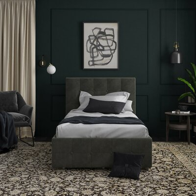 storage included beds you 39 ll love wayfair. Black Bedroom Furniture Sets. Home Design Ideas
