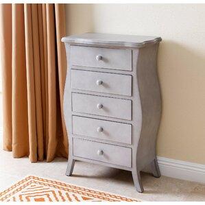 dakota 5 drawer lingerie chest