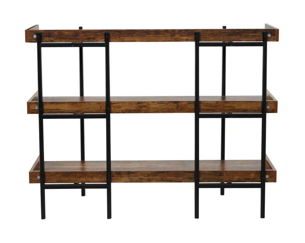 calona modern etagere bookcase reviews allmodern. Black Bedroom Furniture Sets. Home Design Ideas