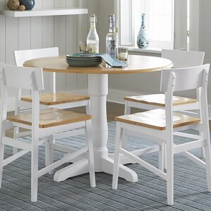 Finley Round Dining Table by Beachcrest Home
