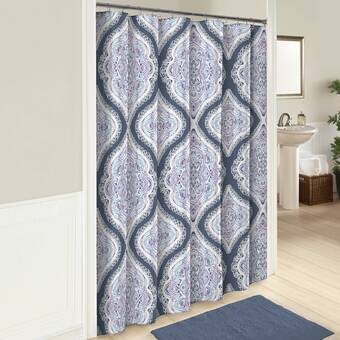 East Urban Home Forest Pine 21 Piece Shower Curtain Set | Wayfair