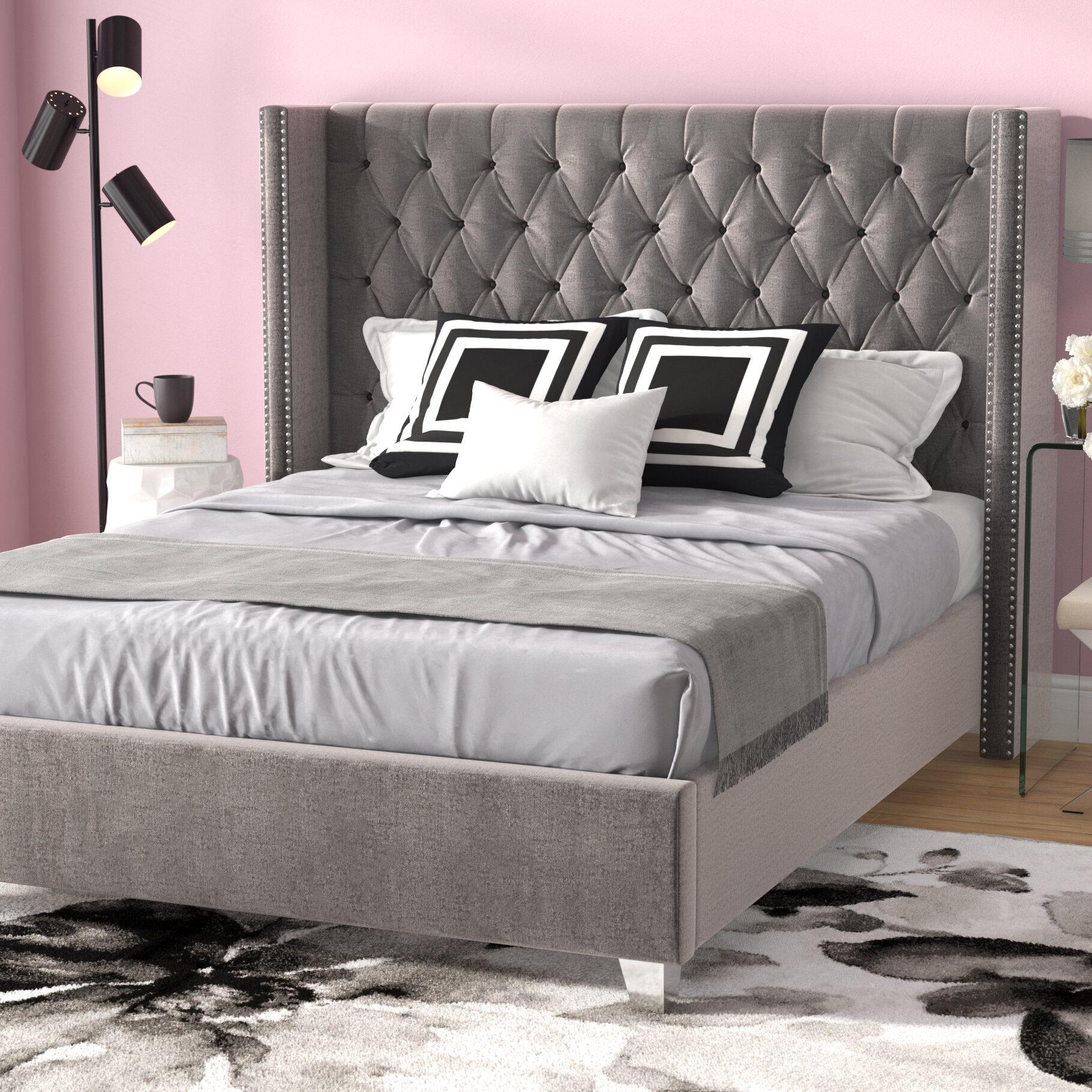 House Of Hampton Tori Upholstered Platform Bed Wayfair