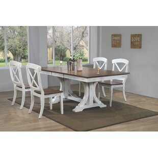 Debbra 5 Piece Solid Wood Dining Set
