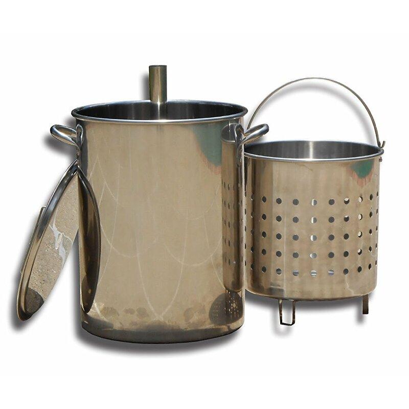 King Kooker King Kooker 30 Quart Stainless Steel Turkey Skewer Pot