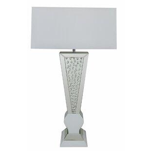 mirrored lighting. Mirrored 93cm Table Lamp Lighting