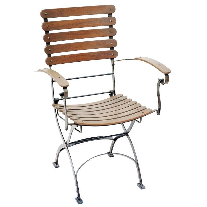 Toscana Folding Teak Patio Dining Chair