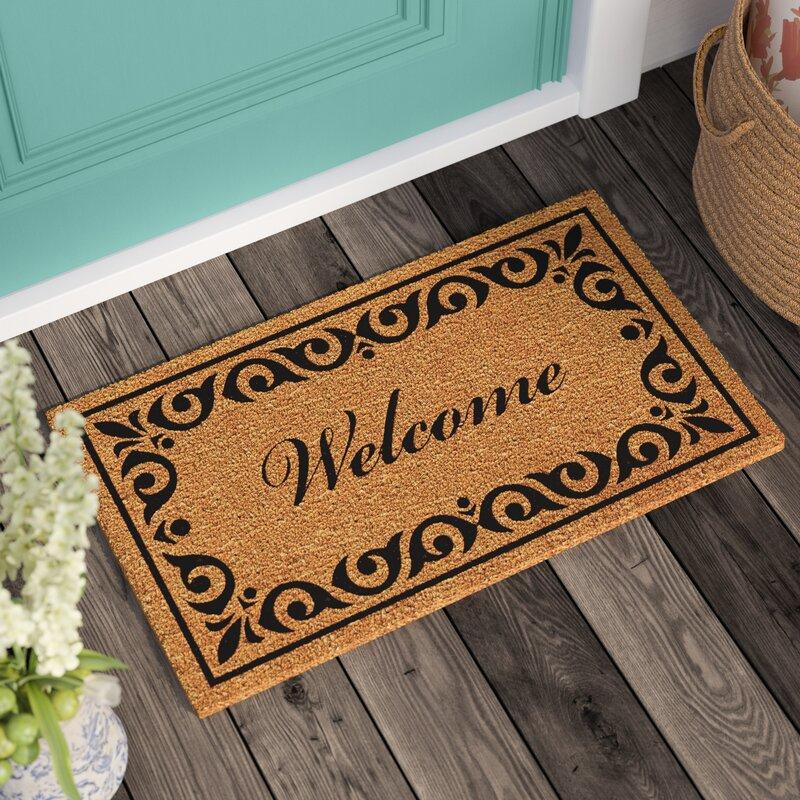 Three Posts Lindemann Welcome Doormat & Reviews