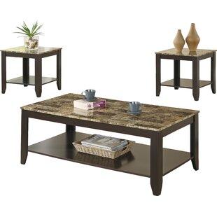 3 Piece Coffee Table Set  sc 1 st  Wayfair & Granite Coffee Table Sets You\u0027ll Love | Wayfair.ca