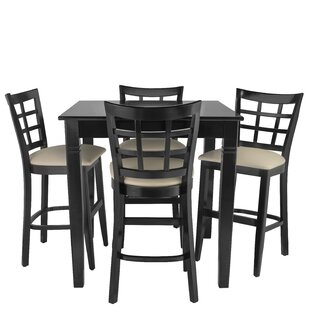 Weinman 5 Piece Pub Table Set