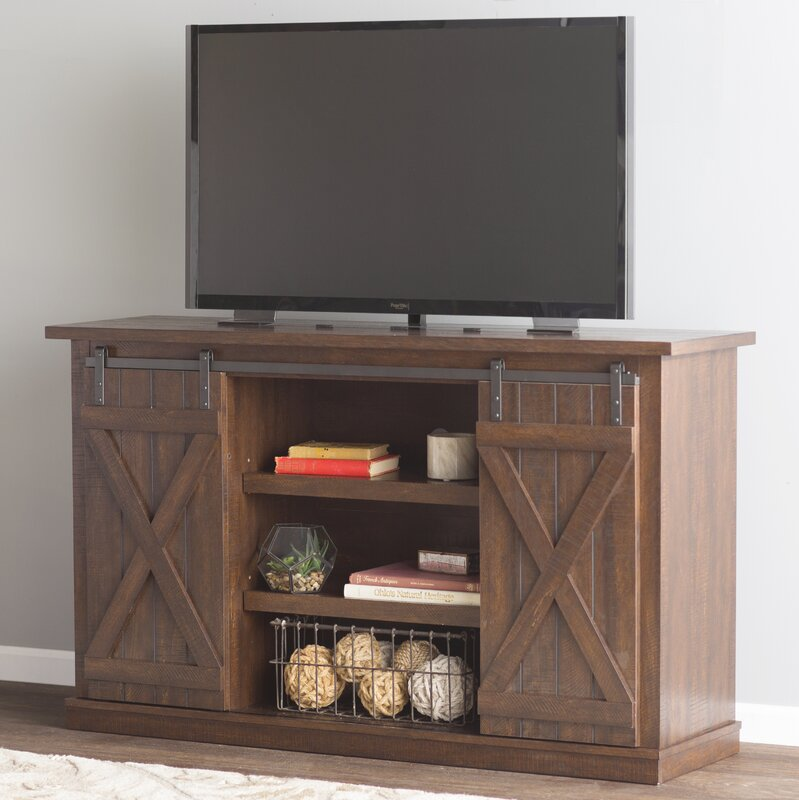 Loon Peak Bluestone 54 Quot Tv Stand Amp Reviews Wayfair