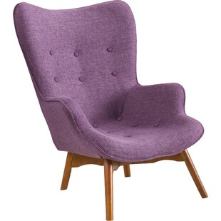 Innovative Lavender Accent Chair Design