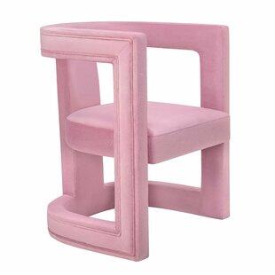 Beau Hot Pink Accent Chair | Wayfair