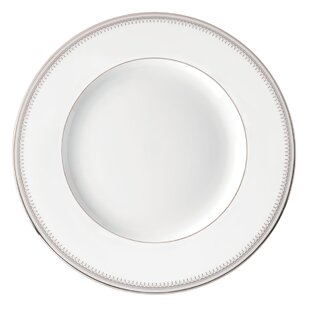 White Plates With Silver Trim Wayfair