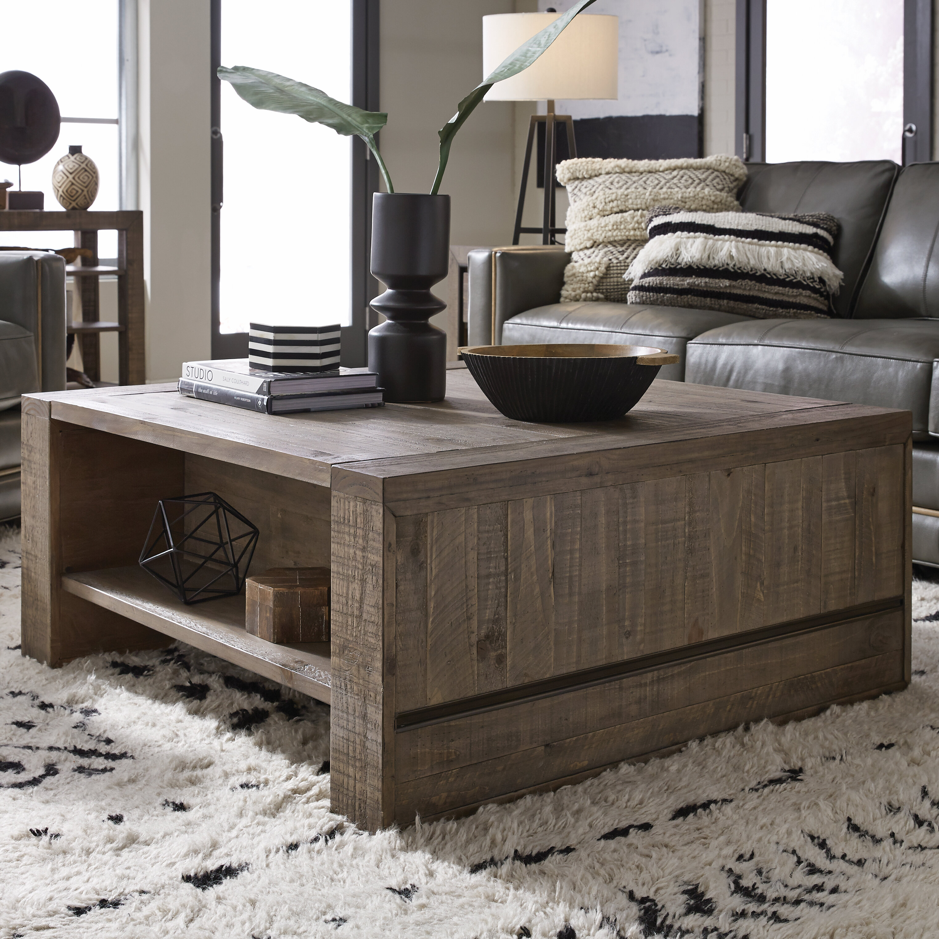 Foundry select norah lift top coffee table with storage reviews wayfair