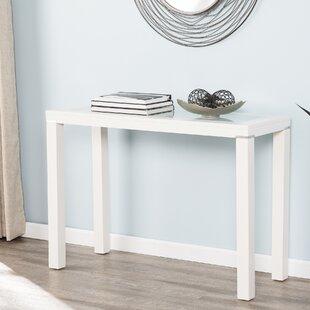 Wood Parsons Table   Wayfair