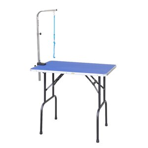Pet Grooming Table with Arm