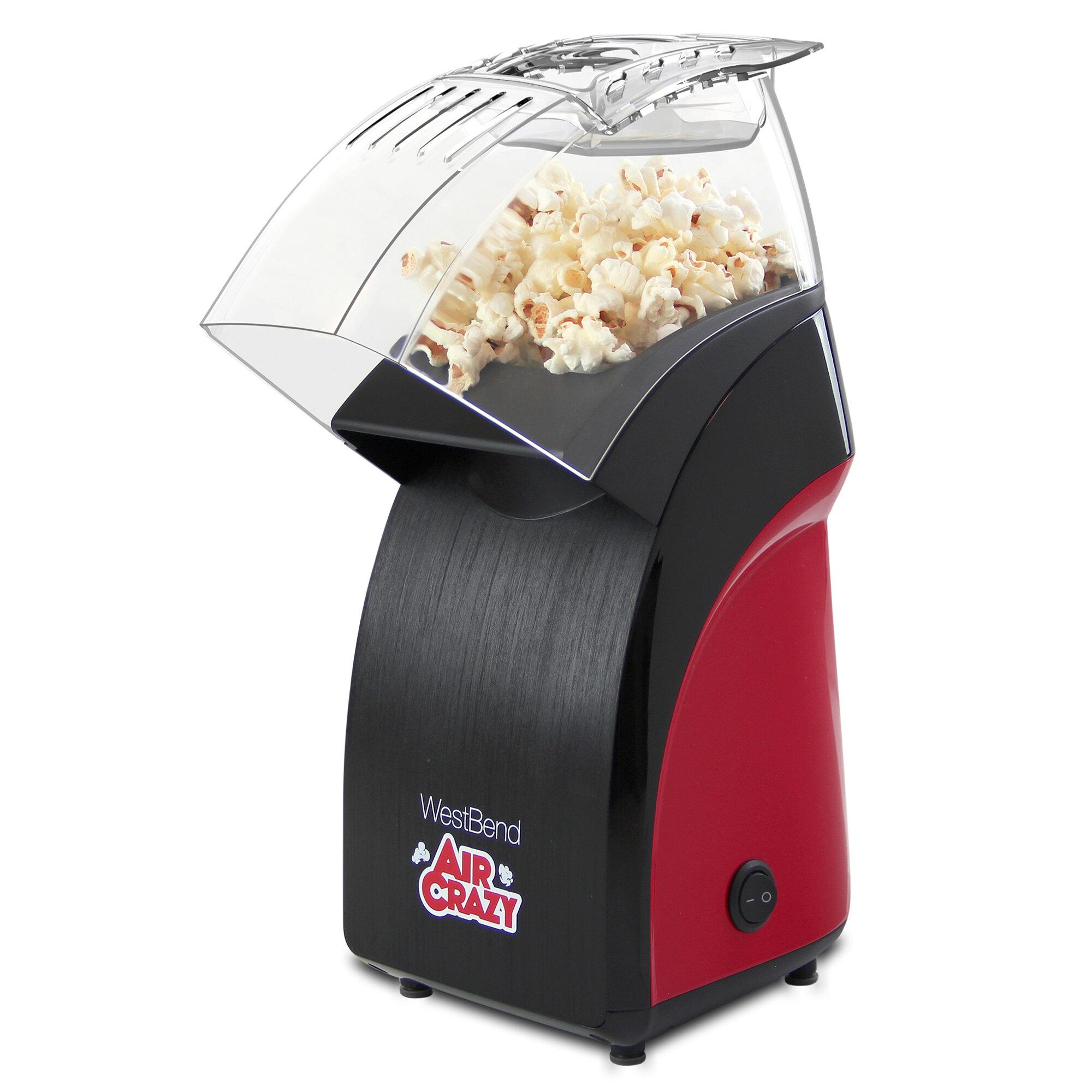 West Bend 4oz Air Crazy Popcorn Tabletop Popper Wayfair