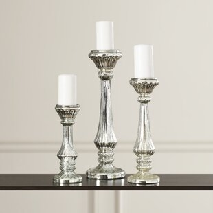 a0864a1c42 Candlestick Silver Candle Holders You'll Love | Wayfair