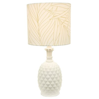 Bay Isle Home Gelston 19 Pineapple Table Lamp