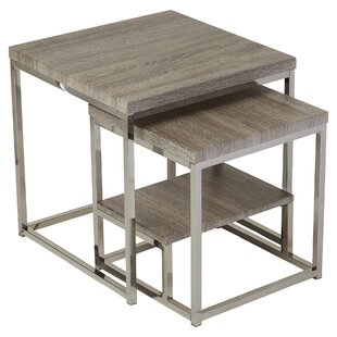 Philippos 2 Piece Nesting Tables  sc 1 st  AllModern & Modern Nesting Tables   AllModern