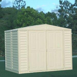 Garden Sheds 10 X 5 metal storage sheds you'll love   wayfair