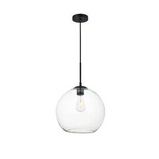 Modern Pendant Lighting Allmodern Eller 1 Light Globe