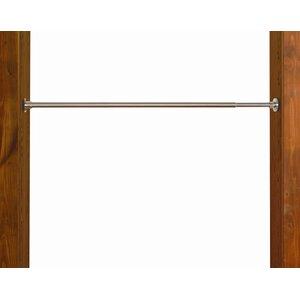 Indoor/Outdoor Staninless Steel Tension Single Curtain Rod