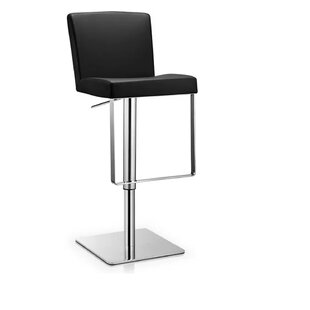Rodger Adjustable Height Swivel Bar Stool