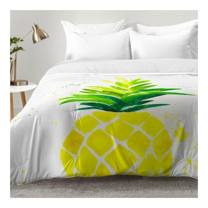 Pineapple Sunshine Comforter Set