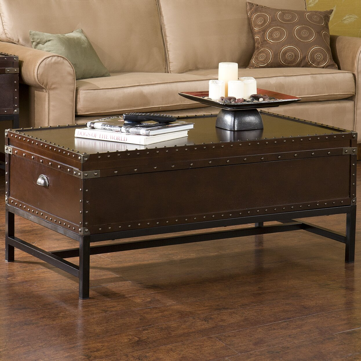 Southport 3 Piece Trunk Coffee Table Set - Wildon Home ® Southport 3 Piece Trunk Coffee Table Set & Reviews