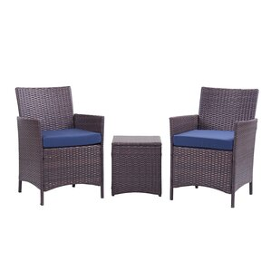 Jefferson 3 Piece Lounge Seating Group