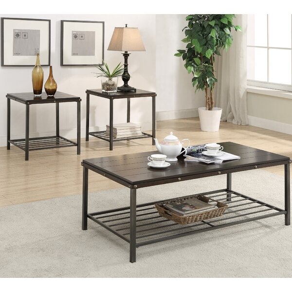 american furniture classics 3 piece coffee table set & reviews