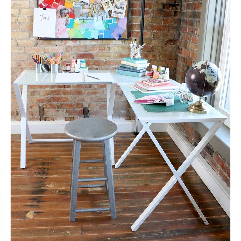 Varick Gallery Ferro L Shape Corner Desk Amp Reviews Wayfair