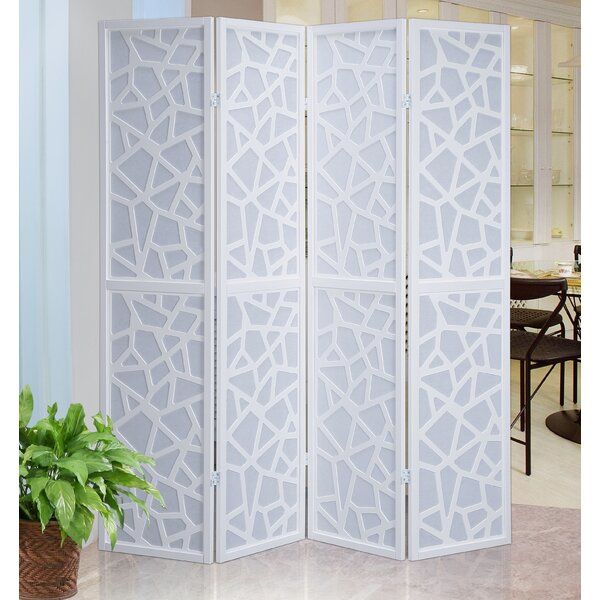 Roundhill Furniture 70 Quot X 70 Quot Giyano Screen 4 Panel Room