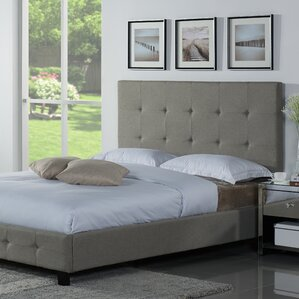 tiara upholstered platform bed - Cal King Platform Bed Frame