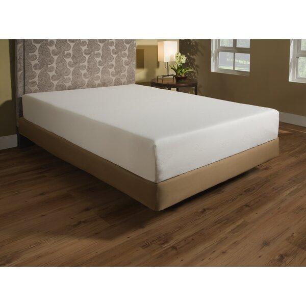 independent sleep 8 plush gel memory foam mattress reviews wayfair - Memory Foam Mattress Bed Frame