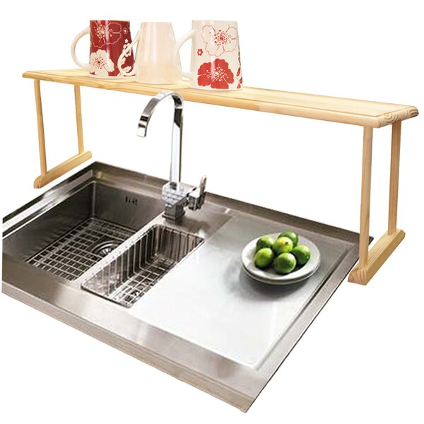 Home Basics Over Sink Shelf U0026 Reviews | Wayfair