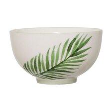 Ceramic Jade Fern Rice Bowl (Set of 4)