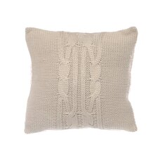 Lawndale Cable Knit Throw Pillow