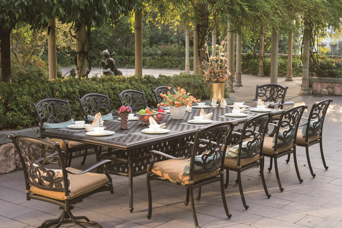 Ten Person Patio Dining Sets Youll Love Wayfair