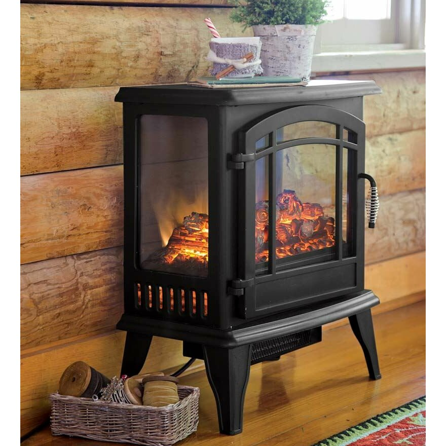 Plow & Hearth 1 000 sq ft Vent Free Electric Stove