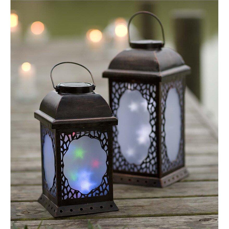 Plow Amp Hearth Moravian Star Decorative Lantern Amp Reviews