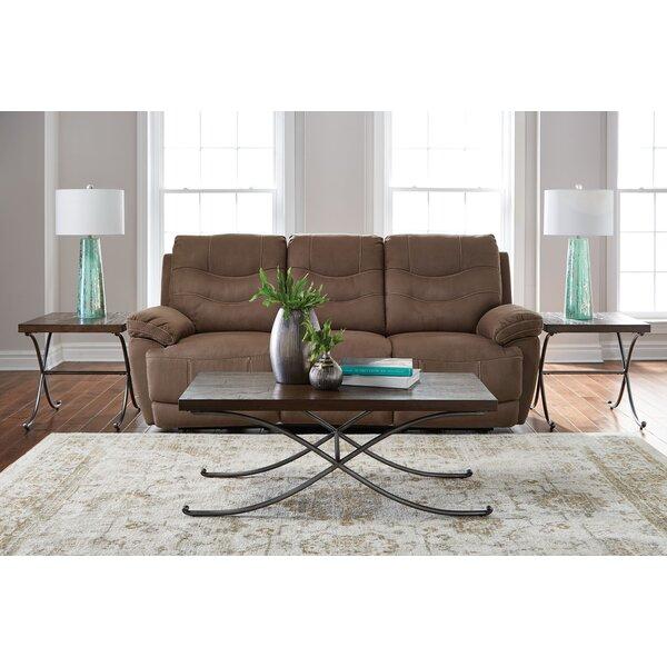 standard furniture hillcrest 3 piece coffee table set | wayfair